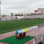 Rain has stopped at #TheMike, @IndyEleven fans. Get on down here! http://t.co/fLOOWY8Sq3