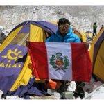 Este es Víctor Rímac, montañista peruano que sobrevivió deslizamientos al pie del Everest #TerremotoNepal #earthquake http://t.co/VU0q63J9XP