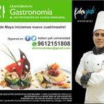 Estudia gastronomía los días sábados @TuxRecomienda @EnTuxtla2 @tuguchismx @RecetasdeCocina @I_LOVE_TGZ http://t.co/WDcU36DJiZ