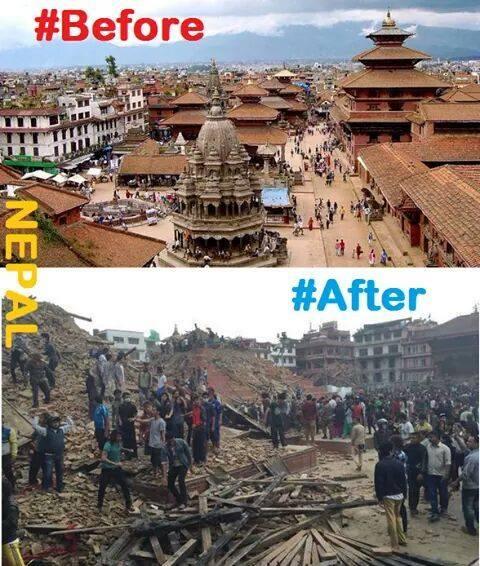 Pray for nepal (เพจ Help EarthQuake Victims of Nepal) #NepalEarthquake http://t.co/j95FuTePDV