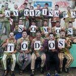 Desde Uruguay, pase de lista. Va foto murga @DiablosVerdesof http://t.co/bJGTjQtVVn vía @andreaapolaro #Ayotzinapa http://t.co/uMFPwamgnu