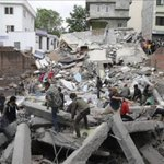 Amanece en Nepal y actualizan el número de fallecidos: 1845 personas, de las cuales 18 son del Everest. #PrayForNepal http://t.co/iWtUt2ov9U