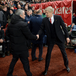 Mourinho has never lost against Wenger in any competition (W7, D5) - will the Arsenal boss reverse the trend? #ARSCHE http://t.co/rX0YqiTZx9