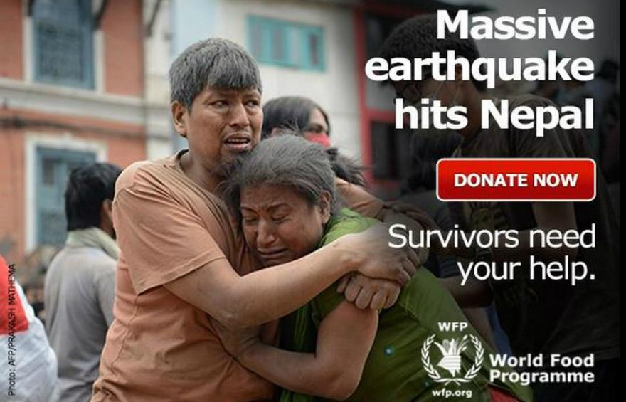 WFP is responding to those affected by the #NepalQuake. Here's how you can help http://t.co/mwZcsqGTAf http://t.co/P7pqF7WZc1