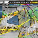 Severe T-storm warning for Peach/Crawford/Houston/Bibb County until 6:30 PM for half dollar sized hail/60 mph winds http://t.co/yqAvGshVYU