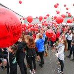 Vigil & balloon release for slain #IU student #HannahWilson @IndEliteCheer in Noblesville. @indystar http://t.co/YFPebbj9D2