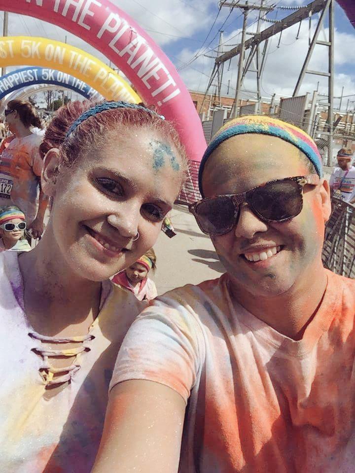 #TheColorRun #Happiest5kOnThePlanet @disnebraskagirl http://t.co/pIJOtheizK