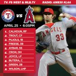 .@str8edgeracer is on the bump tonight as the #Angels take on the Rangers at home: http://t.co/rWHjlOHgfP http://t.co/048LlldqZk