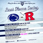 The Nittany Lions go for the series sweep on Sunday at 1 pm! Pink Zone Day and Little League Day! #PennStateSB #WeAre http://t.co/wqXcdf4aC7