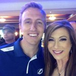 Game 5 baby! #GoBolts !!!! With the sexiest man alive @JeffMcAdamTV I love the @TBLightning http://t.co/0wXiqSxK41