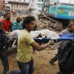 【UPDATE】ネパール大地震、死者1300人以上 http://t.co/5vpyEGsnfF http://t.co/ZJ0XR7rUWe