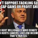 The real reason Hockey cant fathom tackling the super richs tax concessions #insiders #auspol http://t.co/VksYd9kz5W