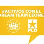 Activo 24/7 con el ●̮̃•)☞ 👣 #DreamTeamLeonel 👣 #1 de las redes sociales, siempre dejando huellas  @LeonelFernandez http://t.co/idt9ipXKMn