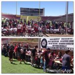 Thx 2 every1 who came out 2 support the Aggies 2day at the Spring Game!! Signing autographs after the game! #AggieUp! http://t.co/jm2GvdfVKW