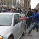 In Baltimore, hundreds jam the streets in protest of Freddie Grays death http://t.co/8uCxAZPbOW http://t.co/xL7gI0ft58