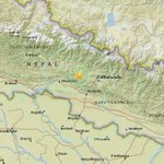 UPDATE: Aftershock measuring 5.6 on Richter scale hits WNW of Kathmandu 5am: @USGS #NepalQuake http://t.co/07QvRlA6bd http://t.co/bmei4BWQyh