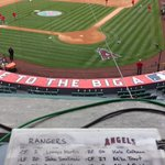 The field @angelstadium is almost ready for action. Lets go @Angels Lets go @Angels http://t.co/IHIXY9Q5xG
