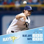 Four straight and back-to-back series Ws! #RaysUp http://t.co/mcISLJJyYA