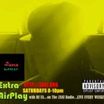 #nowplaying #ExtraAirplay with @earphix >http://t.co/H8rMXC9i39<APR.25.2015 #Jamaica #TUNEiN #hiphop http://t.co/Ijt7UnWhWv
