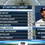 It's fitting that the @BlueJays set the record for the most Canadian lineup ever: http://t.co/9DIaDGt5ik http://t.co/WGiQHqhxrl