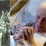 VIDEO: Mujer centenaria observa por primera vez videos de sus años como bailarina: http://t.co/B46IqBpydS http://t.co/YIEVz6bWyD