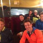 Naughty kids at the back of the bus #LondonMarathon @leehendrie77 @JensonButton @JamesCracknell @gregjames http://t.co/I5URCb5zYJ