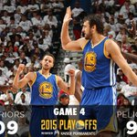 Dubs sweep the series, 4-0. #StrengthInNumbers http://t.co/cf5SbC9Ack