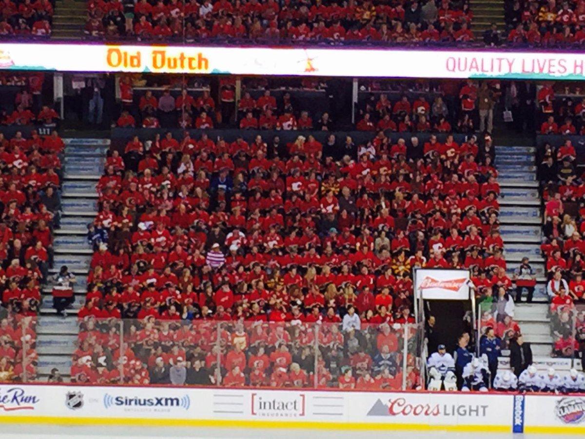 Where's Waldo #GoFlamesGo @NHLFlames http://t.co/Mkg7FwXH1z