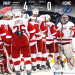 The #RedWings head home with a 3-2 series lead. Well see you Monday night at The Joe for Game 6! #OctopiHockeytown http://t.co/uMx0LWbQVl