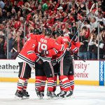 Chicago continues its playoff dominance. With win tonight, Blackhawks have won 7 of their last 8 playoff series. http://t.co/yR6cm8rKkv