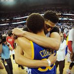 Steph has been there. Anthony will be back. #NBAPlayoffs #Respect http://t.co/uGTaN20Yzg