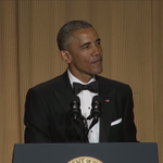 "Obama: ""I look so old, John Boehner's already invited Netanyahu to speak at my funeral"" http://t.co/NCi02GAuix #WHCD http://t.co/OSAEcs12Br"