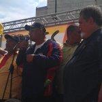 """""""@Valentin2005: Columna Obrera Redes , la Dirigencia sindical Petrolera presente en la marcha hoy @raul_parica http://t.co/WlIA3G6Fa0"""""""