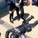 【悲報】リア充の射撃で隊員1名が殉職 #chokaigi http://t.co/13O3vPzr97