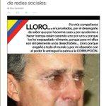"""#Opinión   """"Lloro"""", por @VLADDO --> http://t.co/rsClQOuvdZ http://t.co/W3nYadmGpt"""
