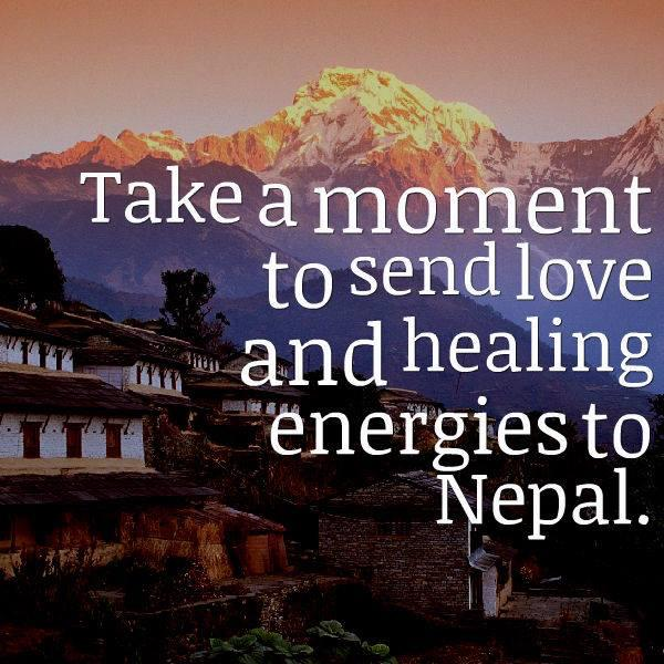 This morning, let's do this for #Nepal .. And Pls RT and spread the energy.. http://t.co/P7QcDxrz95