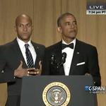 Obama gets an anger translator at #WHCD http://t.co/1klc8ShWpq http://t.co/jLPfD6WGCH