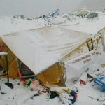 About 100 climbers at camps on Mount Everest http://t.co/Op04lWrryh http://t.co/kQY05QSj2q