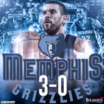 The Grizzlies are on the verge of bringing GRIT and GRIND to the 2nd round. http://t.co/YaXNf0MyYI