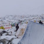 Scene at base camp of Mount Everest http://t.co/fXRQbWn05L #NepalEarthquake http://t.co/a1TDhJbdwR