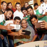 A grand invitation for lunch with the Prime Minister Sheikh Hasina! #riseofthetigers Images: http://t.co/AsyxlGj3sk http://t.co/cnkAe3JW9G
