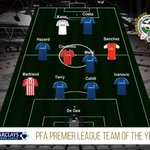 """@PFA: Congratulations to the Barclays @PremierLeague PFA Team of the Year! #PFAawards http://t.co/YFONVHw8de"""