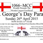 St. Georges Day Parade. TODAY 26/4. 6:15pm start at Notcutts/Tesco, A34 Stratford Rd B90 4EN https://t.co/i5AyIipkbO http://t.co/c16n5Q25bq