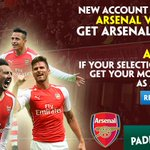 Back an @Arsenal win at 9/1 with Paddy Power. New account exclusive - sign up now: http://t.co/oEjXviQX2I (UK/IR/IT) http://t.co/7J7h1zJHfY