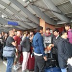 RT @XHNews: #Kathmandu airport crowded as people rush to leave after devastating #NepalQuake http://t.co/6JQ1xsU2kx http://t.co/R0GCUwlkyi