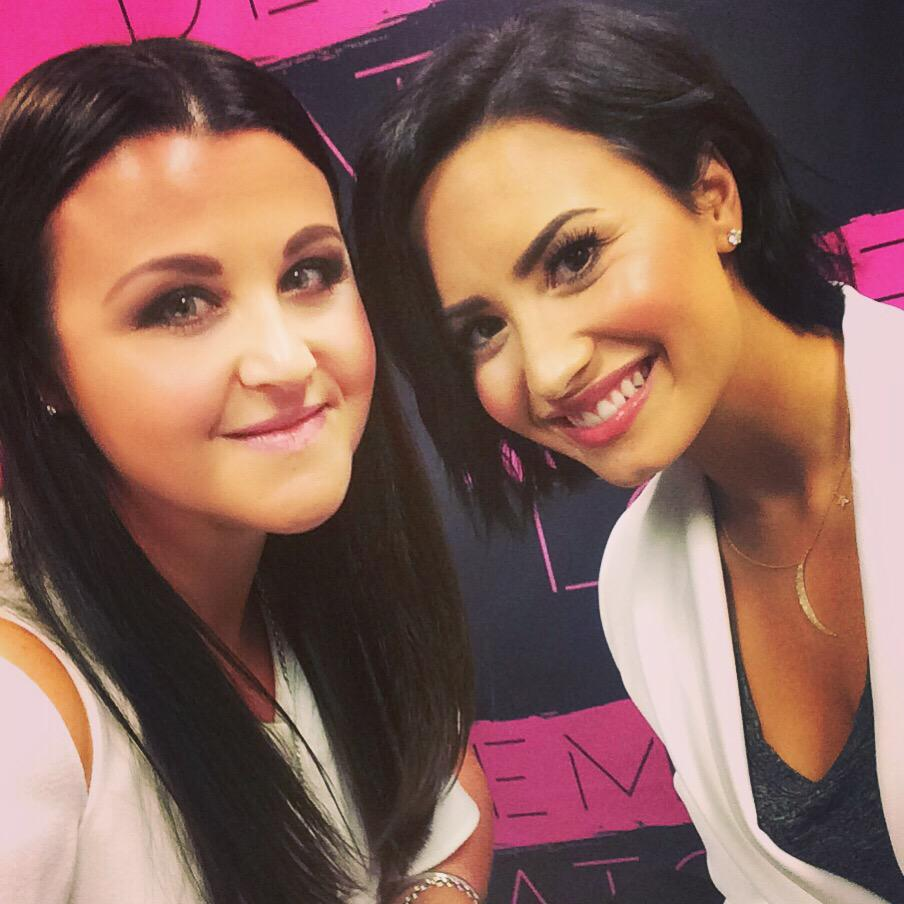 Demi! Hear my chat with this gorgeous babe Tuesday morning! x http://t.co/UkVN9epNF2