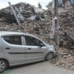 Powerful aftershocks rock Nepal. #NepalEarthquake http://t.co/9YGC8FdCrS http://t.co/3Ww0F7AzoO