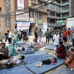 Powerful aftershock causes panic and further devastation in Nepal http://t.co/mZ9ZlRAjZw http://t.co/c8viW21LEH