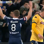 Thanks to the crowd of 22,285 for coming to @AAMIPark. @BesartBerisha7s pumped! #MVCvCCM 3-1 #MVFC #10YearsProud http://t.co/5P4lybzJW8