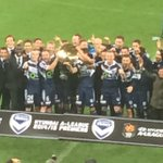 On a plate!! @gomvfc secure The Premiers Plate. @abcgrandstand #MVCvCCM @ALeague http://t.co/wWsEjWKTmM